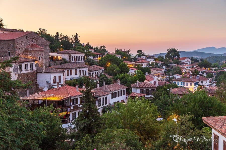 Şirince village is a great place to stay on a Turkey Road Trip