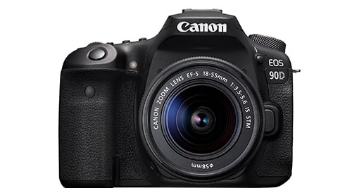 Best camera for blogging: Canon 90D