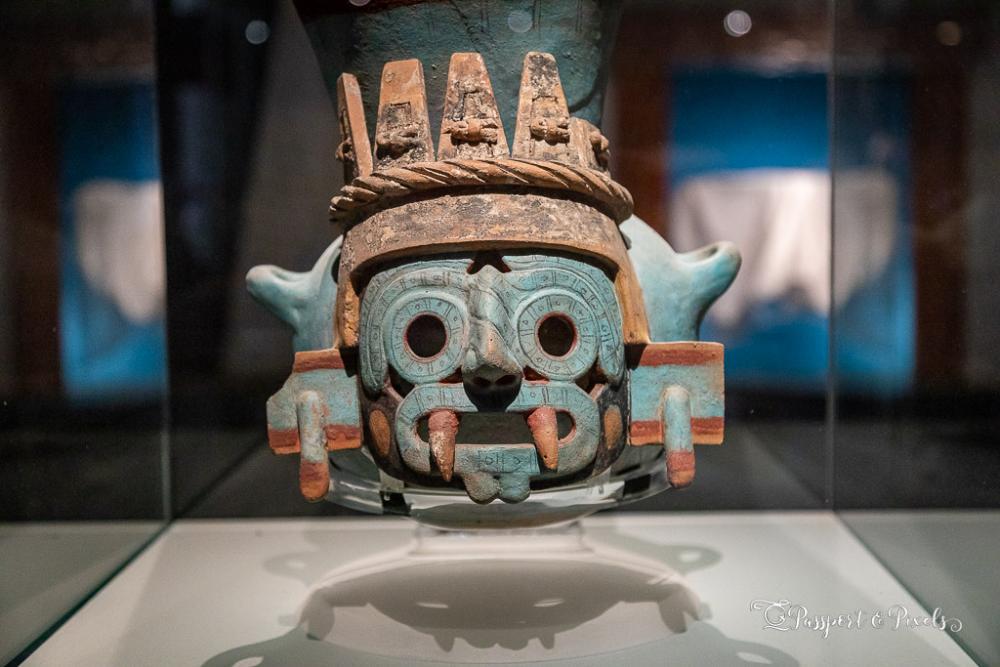 Statue of Tlaloc, Aztec rain god