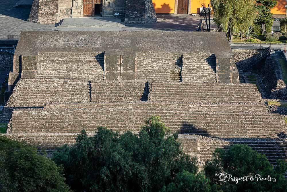 Aztec ruins at Tlatelolco, Mexico