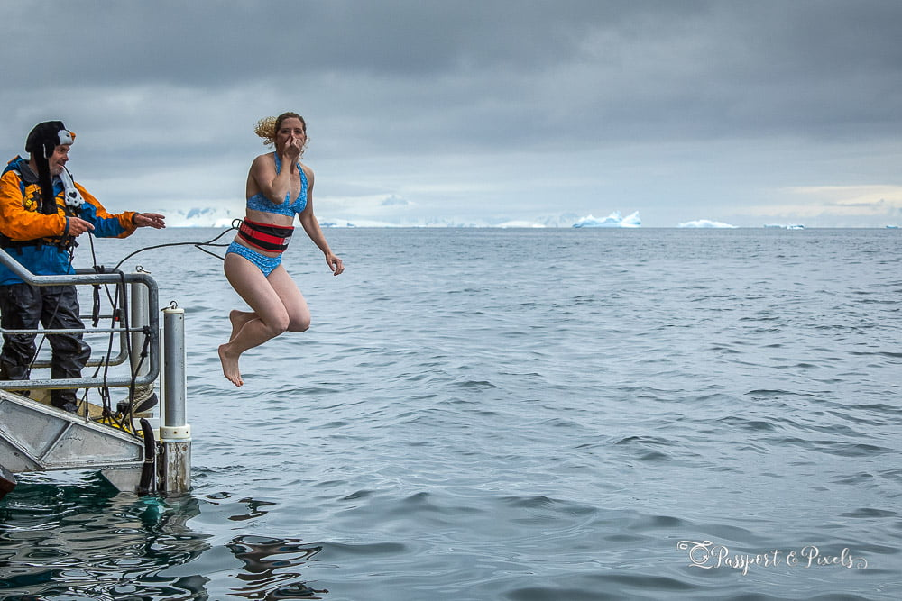 Are you brave (or foolish) enough to do the Polar Plunge in Antarctica?